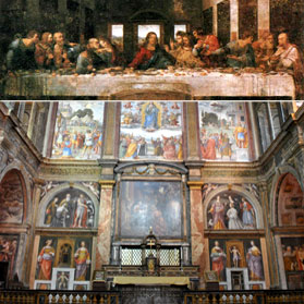 Last Supper & Church St. Maurizio - Guided Tours and Private Tours
