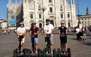 Segway Escorted Tour - Group Guided Tour in Milan, Italy